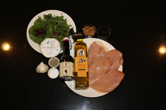 Ingredients for Grilled Chicken Salad