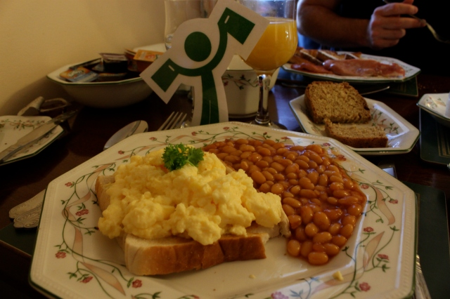 Arti's breakfast at Marless House